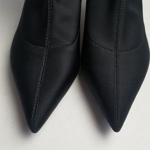 Zara Shoes - NWT Zara Black below Knee Elastic Boots 36
